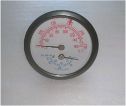 Temperature/Pressure Gauge